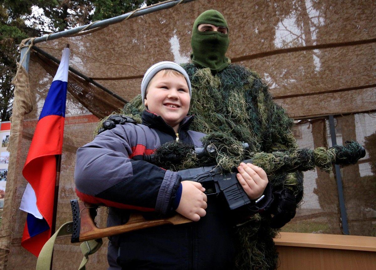 Российская Федерация учит насилию иксенофобии крымских детей— защитники прав человека