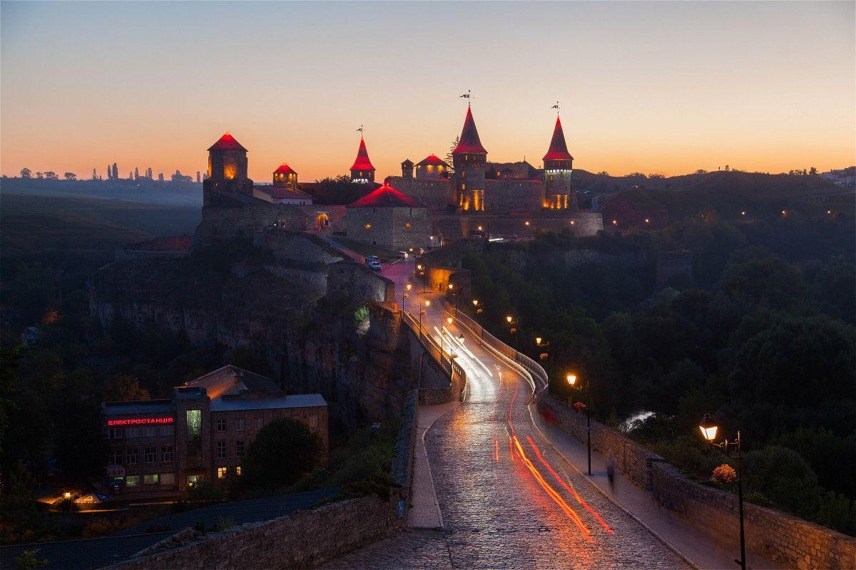 Каменец-Подольская крепость / Фото Yan Mednis