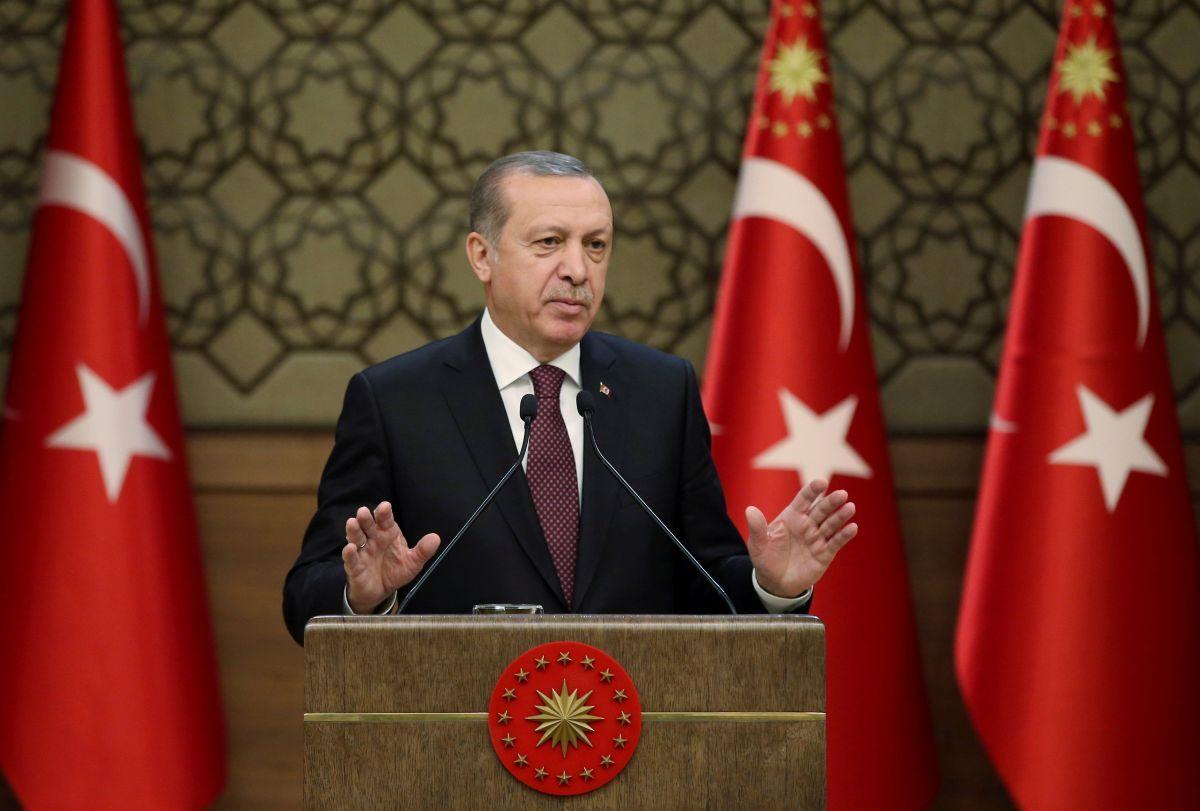 Президент Турции Реджеп Тайип Эрдоган \ REUTERS