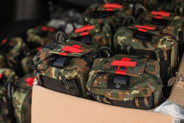 В Україні розробили новіе правила формувань аптечок для военніх / Фото: Міністерство охорони здоров'я України
