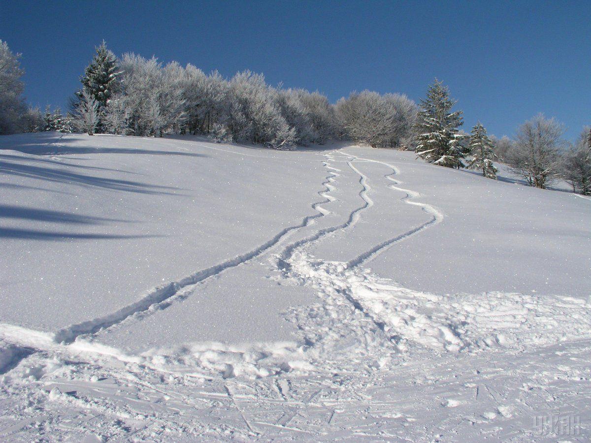 В Карпатах сохраняется снеголавинная опасность / УНИАН