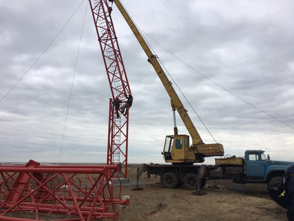 Башня будет 150 метров высотой / facebook.com/artembidenko