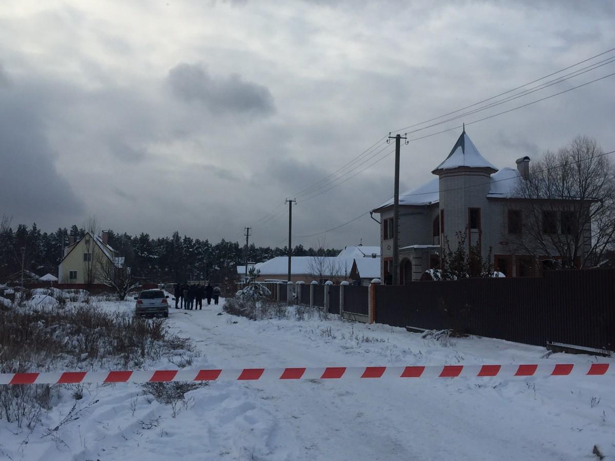 Фото с места трагедии в Княжичах / УНИАН