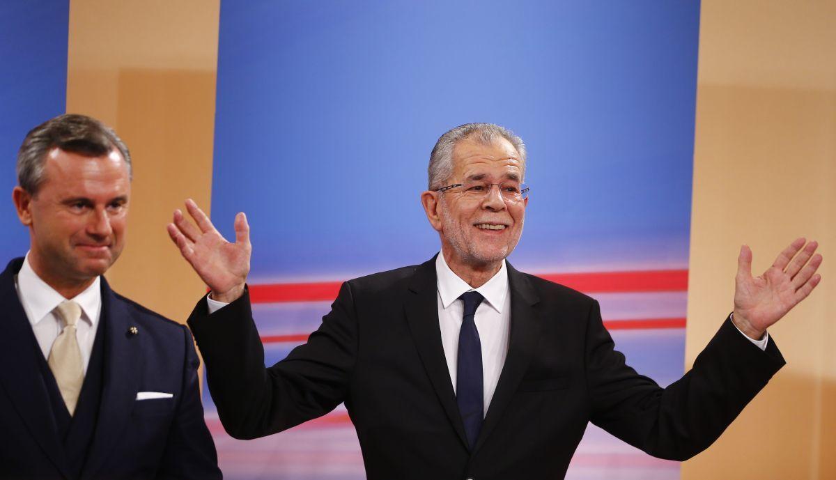 Президент Австрии Александер ван дер Беллен / REUTERS