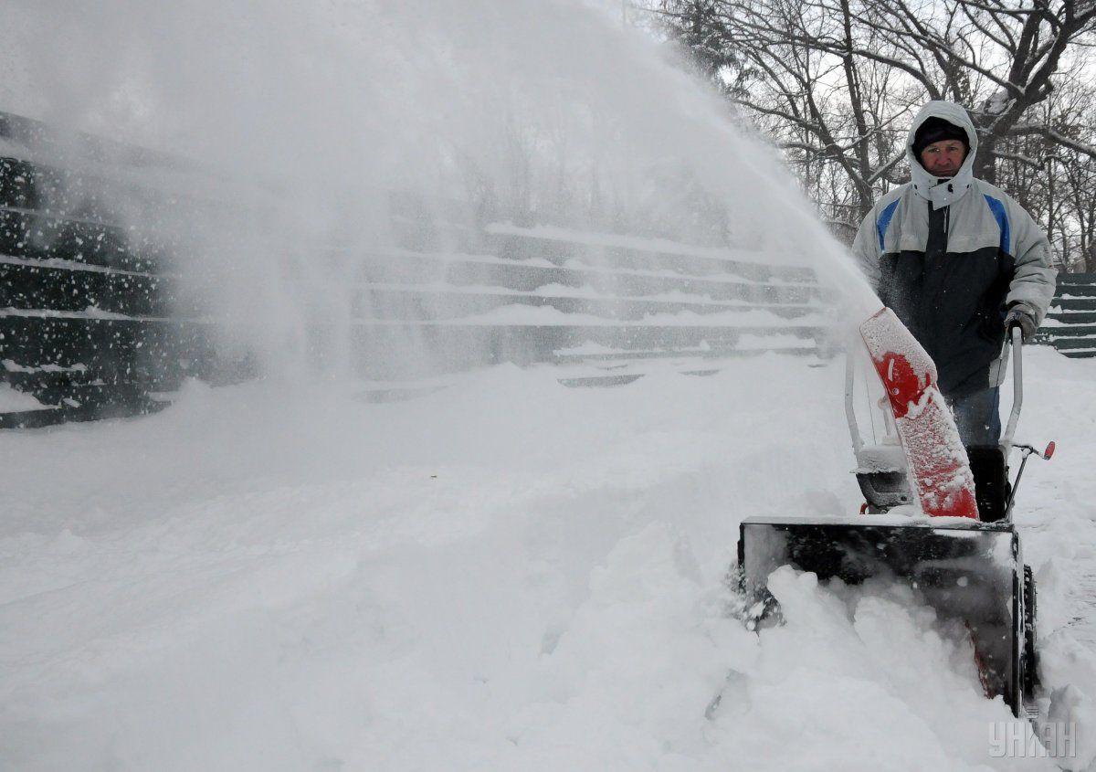 Снігопад в Харкові / УНІАН