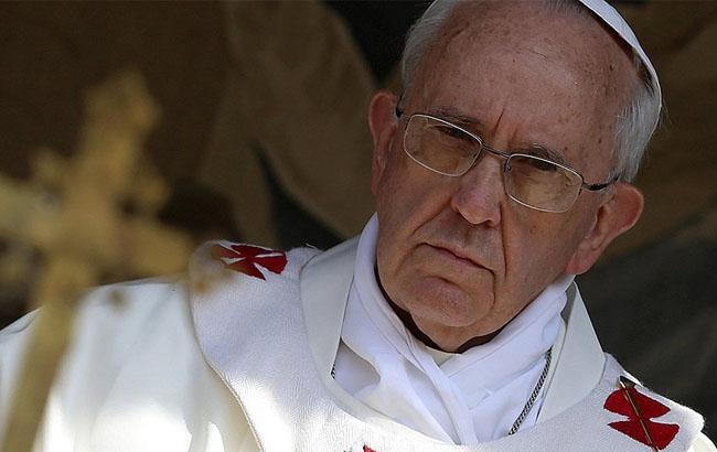 Фото: Папа Римский Франциск (RTVi)