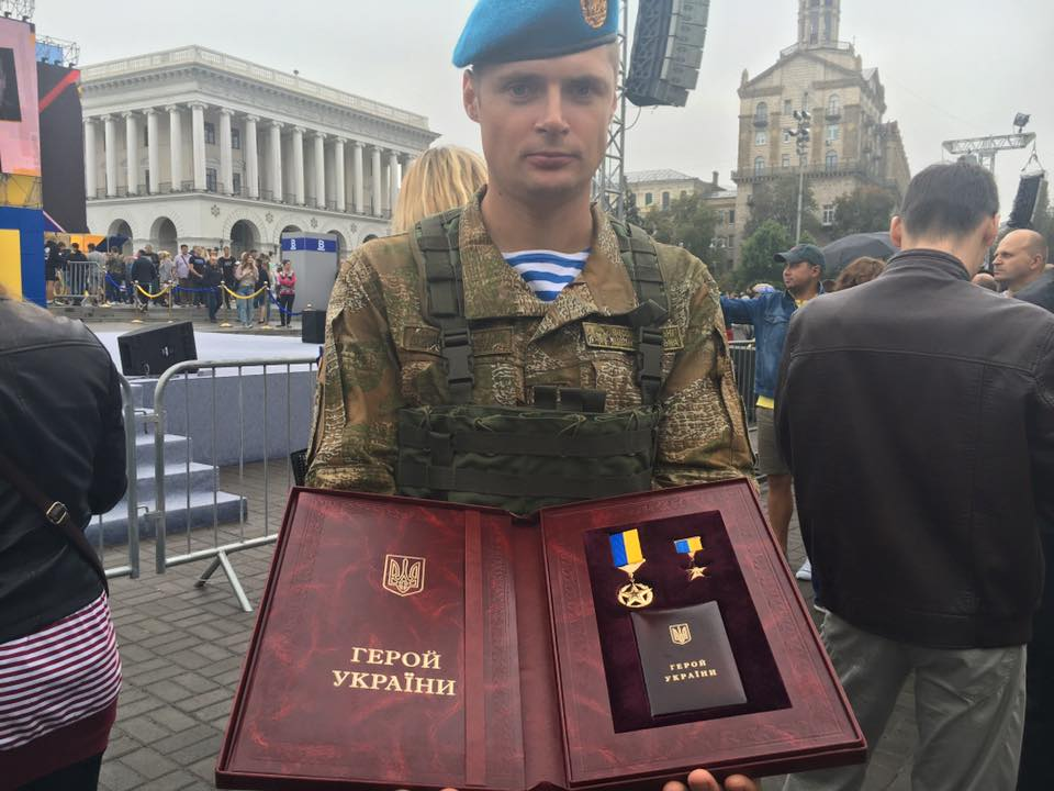 Hero of Ukraine Valeriy Chibineev / facebook.com/romabra