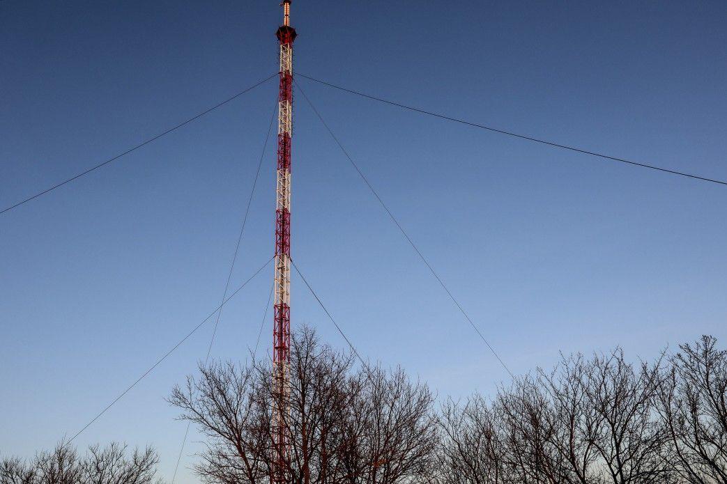 Новая телебашня на горе Карачун в Славянске / president.gov.ua