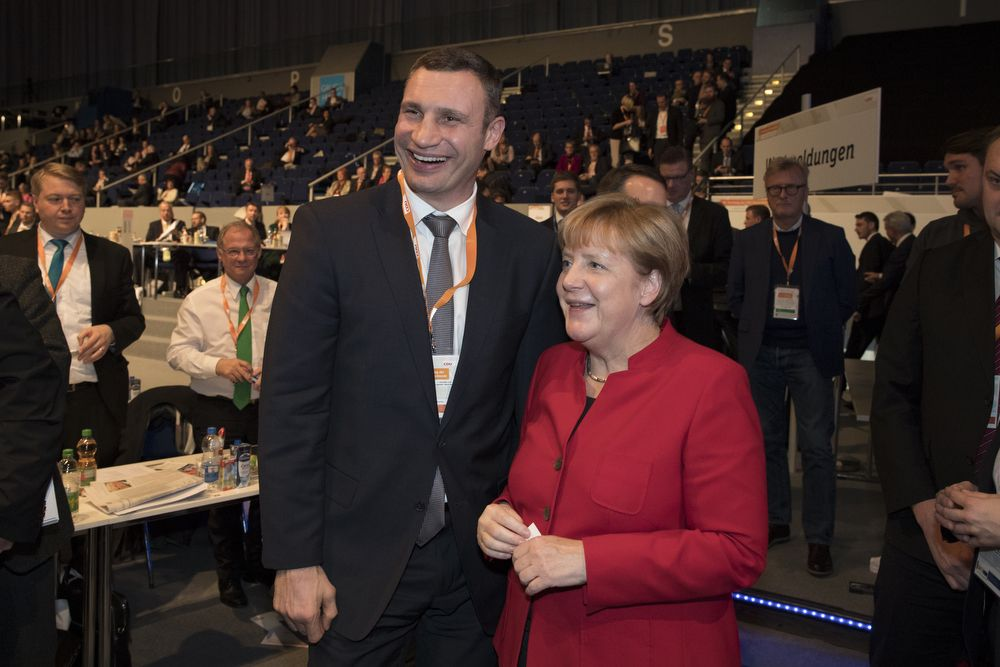 Klitschko going on foreign trips to attract foreign investment for Kyiv city projects