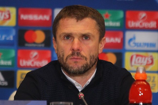 Сергей Ребров / fcdynamo.kiev.ua
