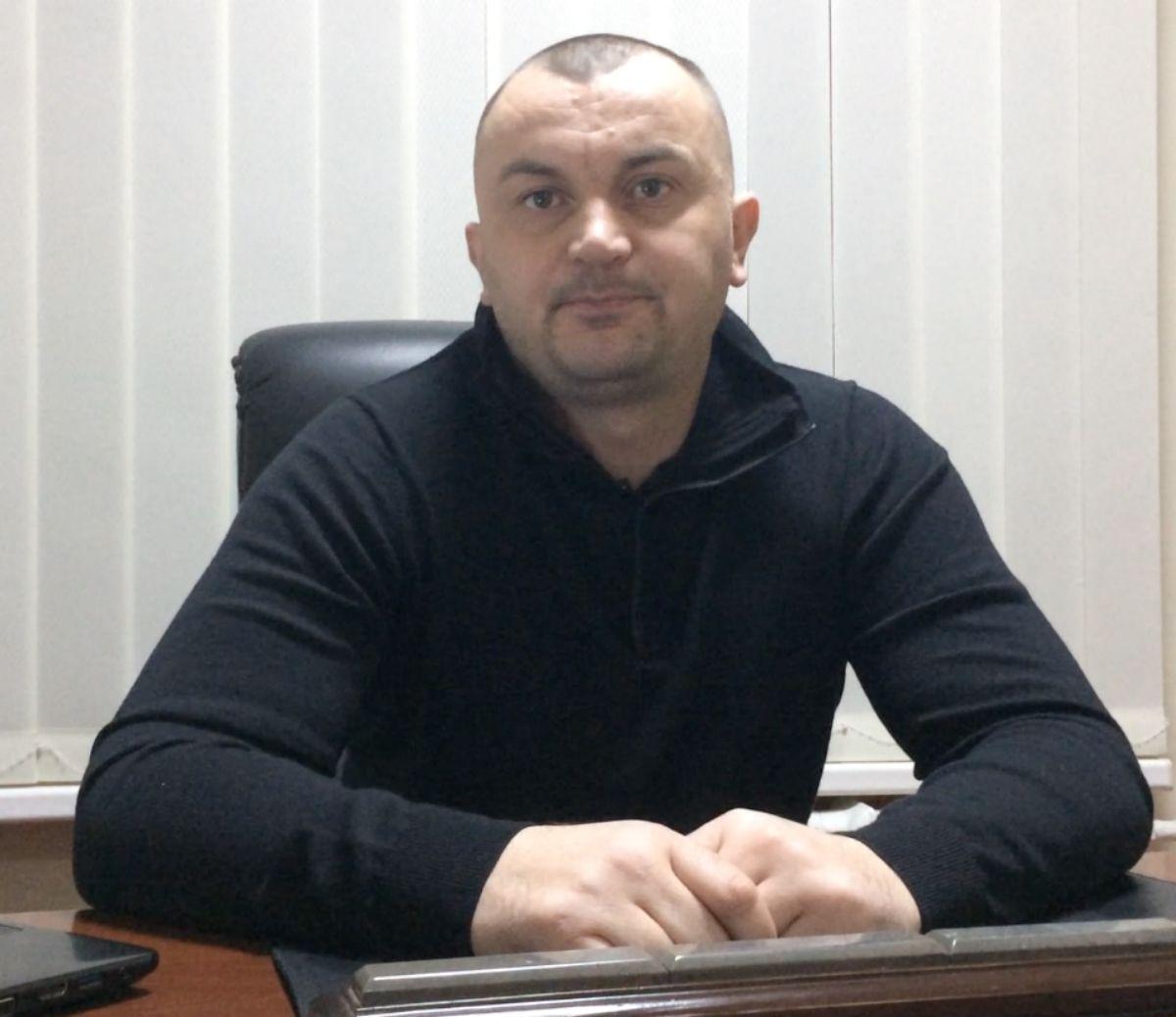 На фото: адвокат Строгий Валерий Федорович