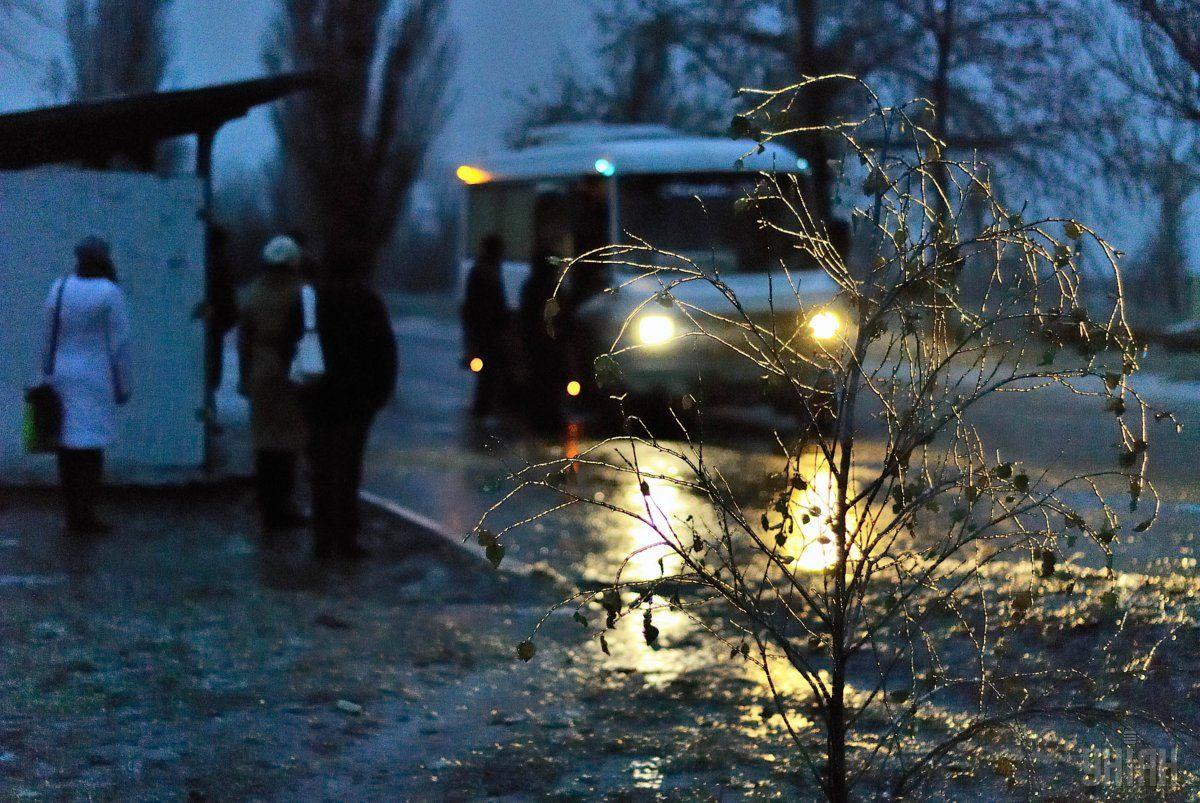На дорогах Львовской области - гололедица / Фото УНИАН