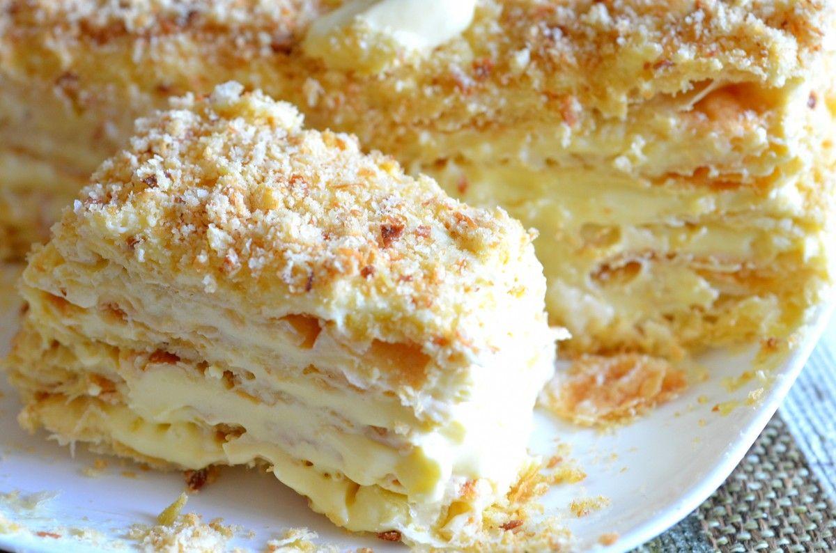 наполеон, торт / Фото: prokuhnyu.ru