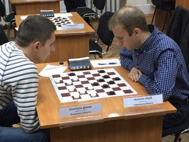 Юрий Аникеев подтвердил титул сильнейшего шашиста Украины / shashki.at.ua