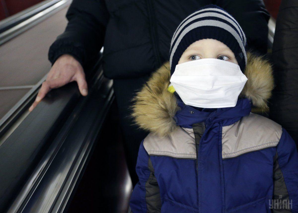 В этих 20 школах уровень заболеваемости гриппом и ОРВИ превысил 20% / фото УНИАН