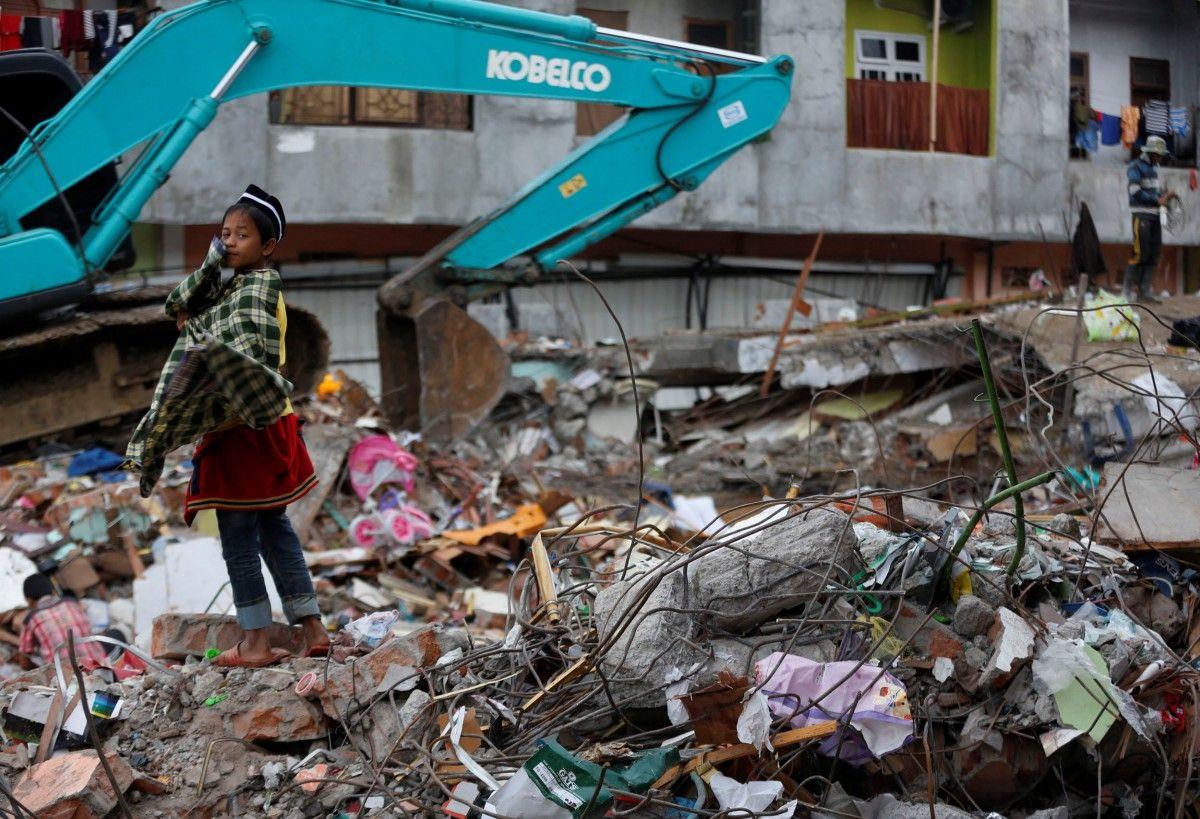 Наслідки землетрусу в Індонезії / Reuters