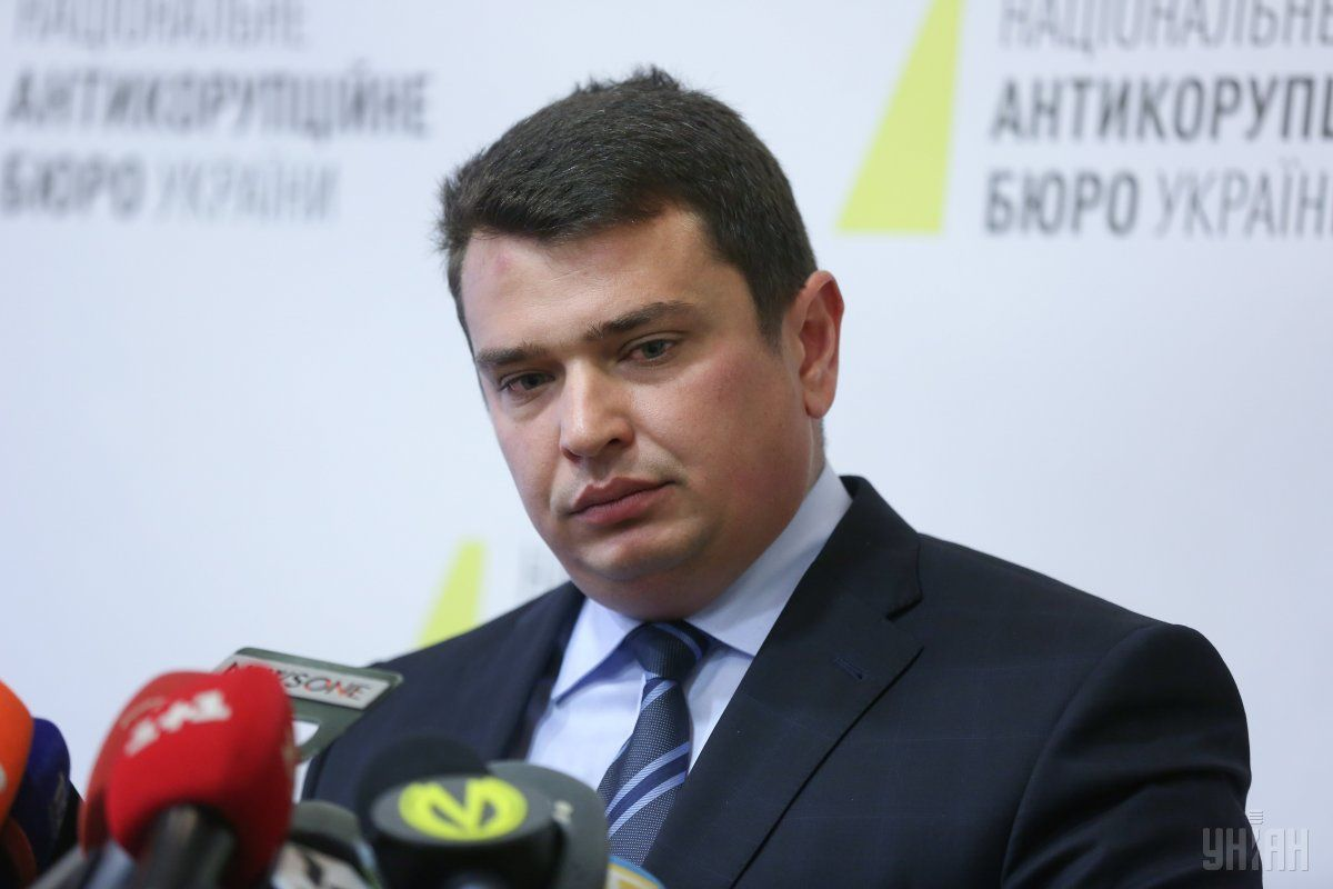Sytnyk is accused of warning the infrastructure minister about a police raid / Photo from UNIAN