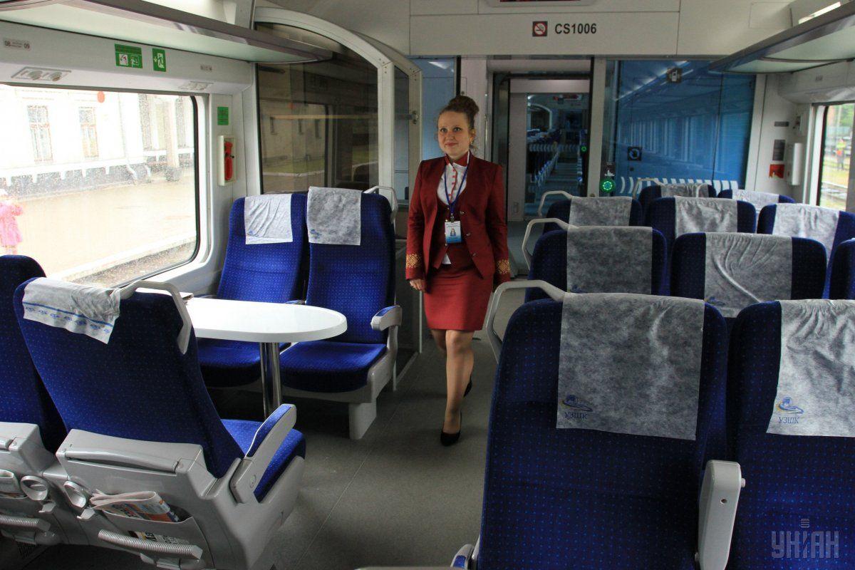 Поезд будет отправляться в рейсы ежедневно с 25 сентября / Фото УНИАН Владимир Гонтарь