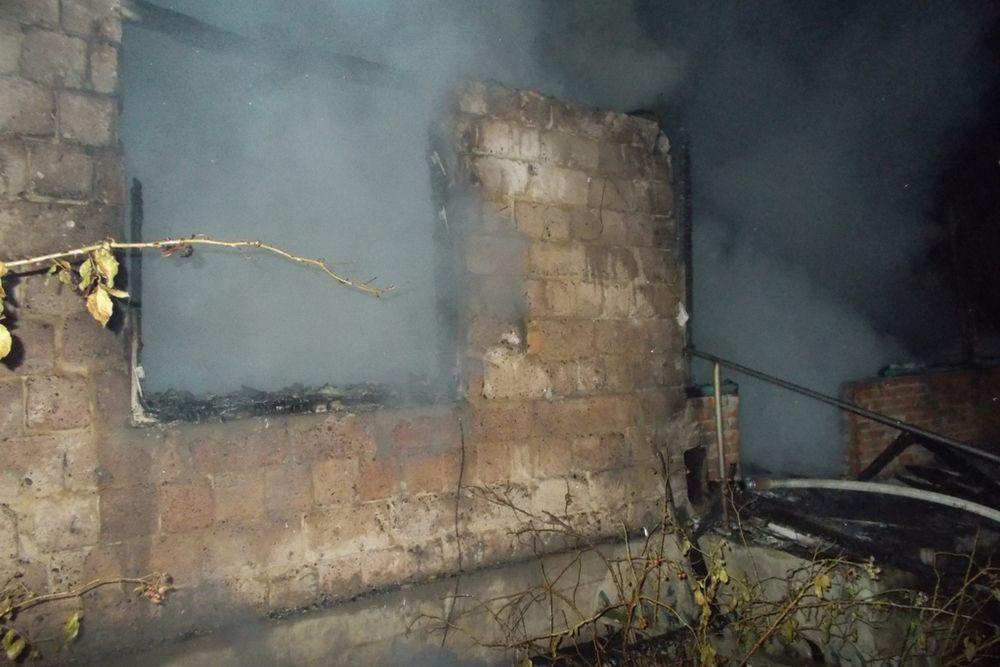 Ймовірна причина загоряння - необережне поводження з вогнем / ДСНС