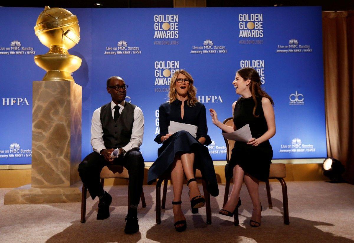 Номинантов огласили актеры Дон Чидл, Лора Дэрн и Анна Кэндрик / Фото REUTERS