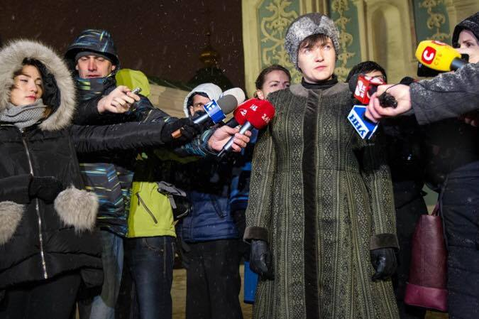 Шапка Савченко взорвала интернет / twitter.com