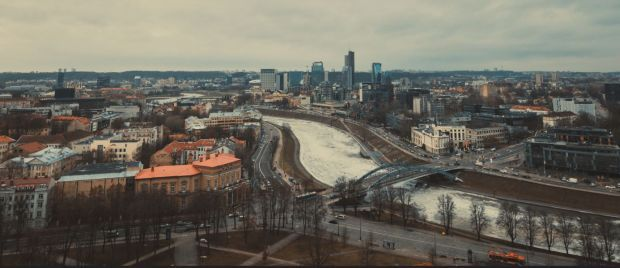 Вильнюс, Литва, иллюстрация / flickr.com, Antoine Dellenbach