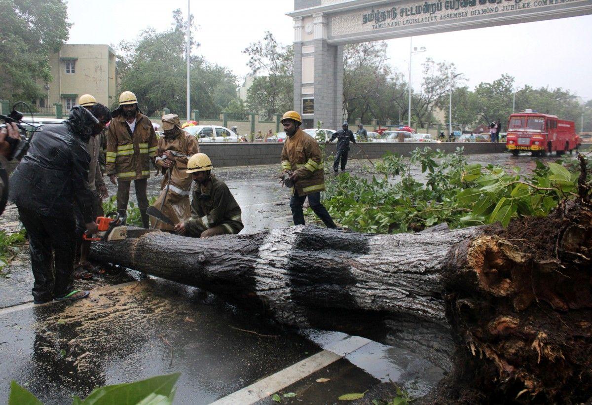 Наслідки циклону в Індії / Reuters