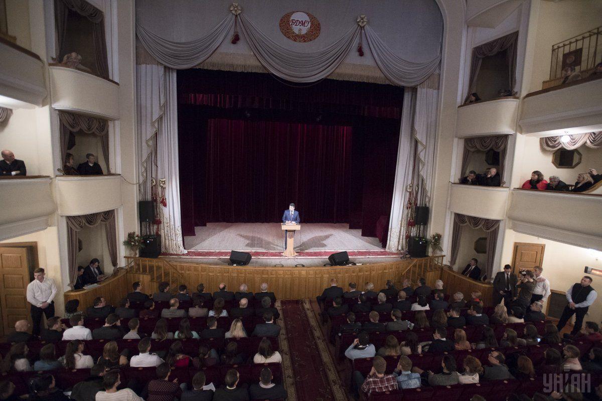 Гройсман: Моя думка – ті, хто вчиться краще, повинні отримувати більше / Фото УНИАН