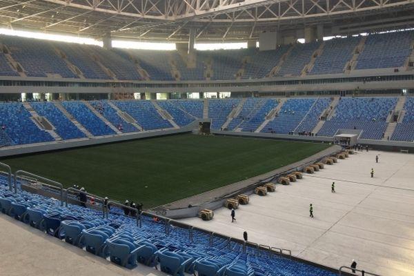 Стадион в Санкт-Петербурге затопили во время испытаний / gov.spb.ru