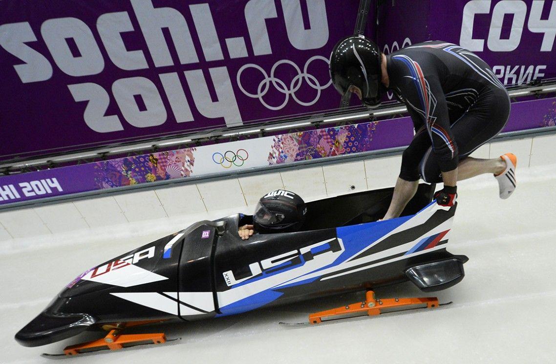 У России отобрали чемпионат мира по бобслею / BMW Bobsled Start