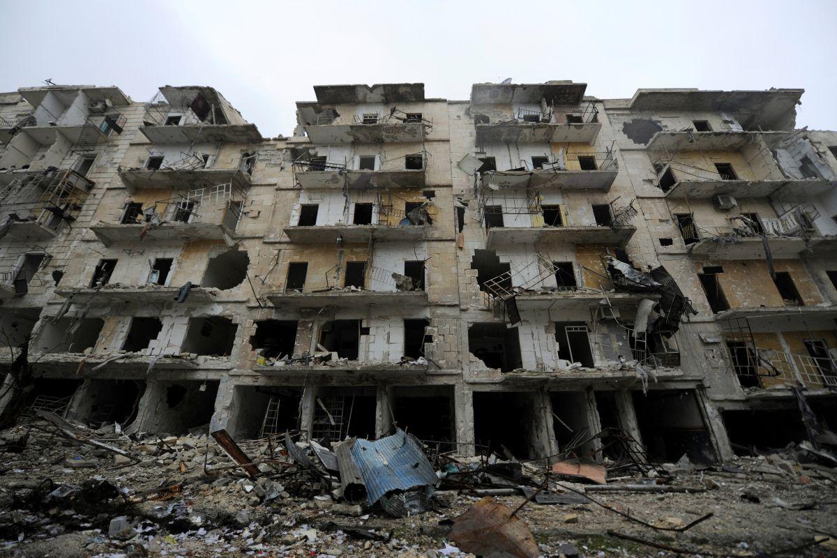 Алеппо, иллюстрация / REUTERS