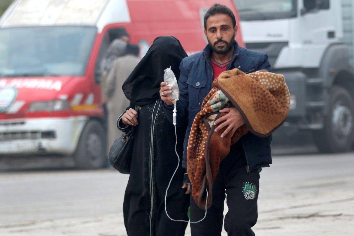 Сирийские беженцы / REUTERS