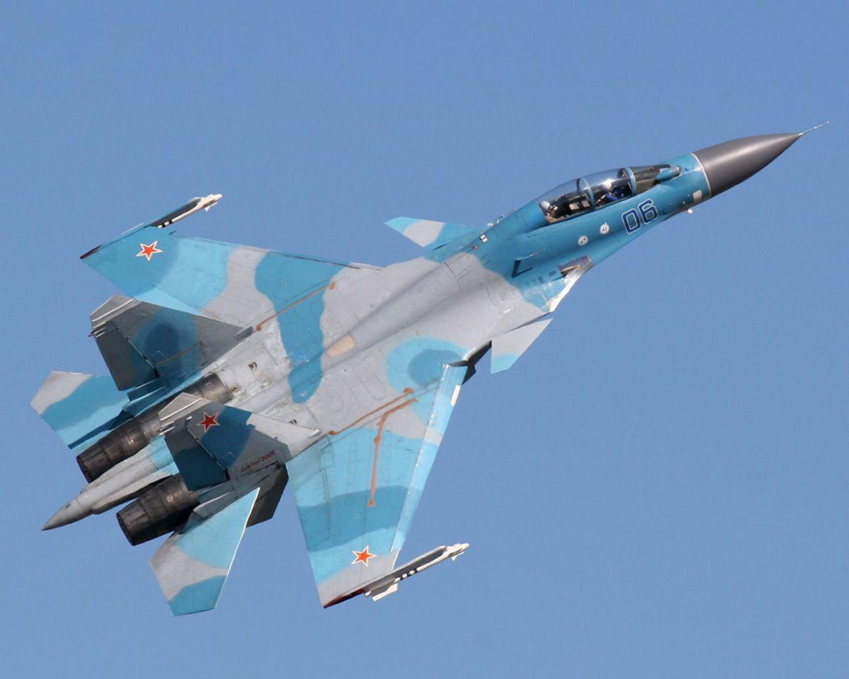 Истребители Су-30 заметили над Крымом / militaryarms.ru