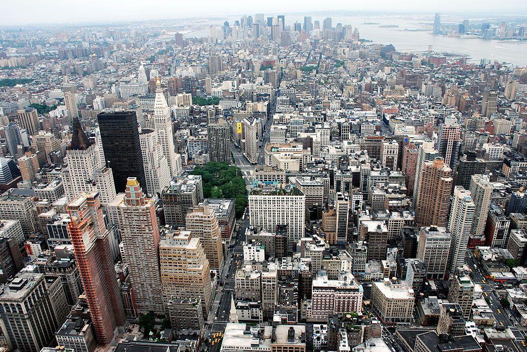 Парк будет расположен в западной части Манхэттена / фото wikipedia.org