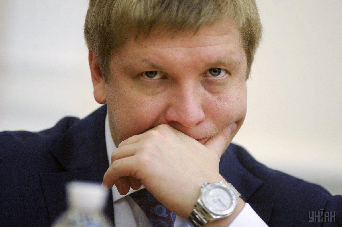 """Руководитель """"Нафтогаза"""" Андрей Коболев / фото УНИАН"""