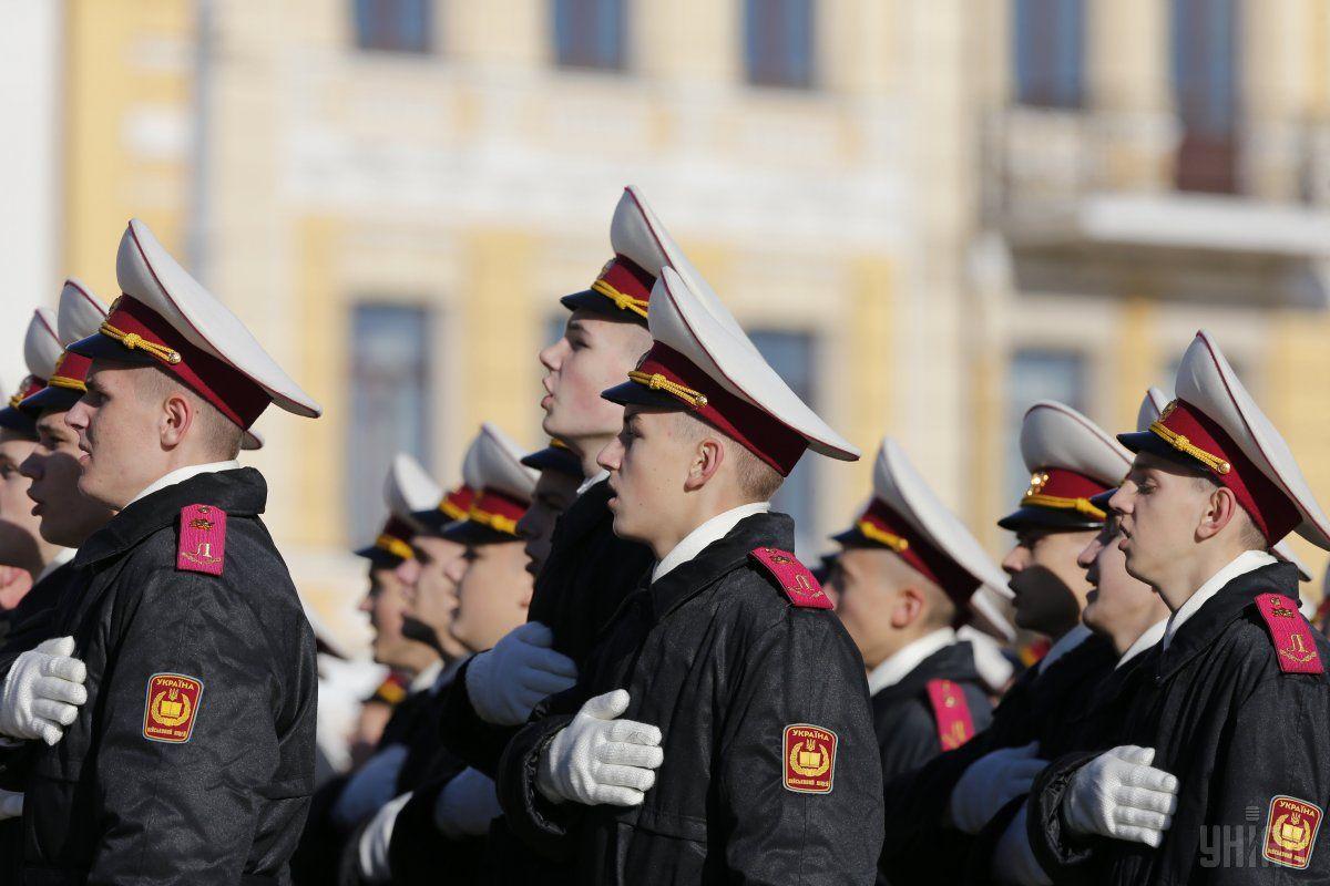 В Минобороны утверждают, что стандарты НАТО вводятся в учебные программы украинских военных вузов / Фото УНИАН