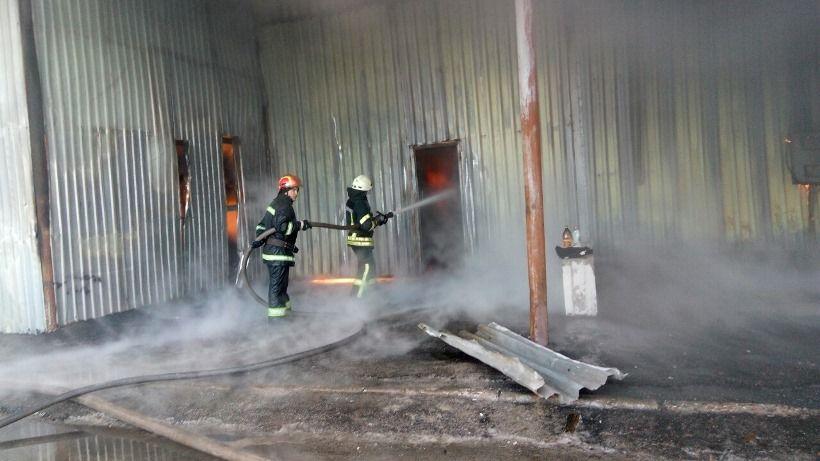 В результате пожара никто не пострадал / dsns.gov.ua
