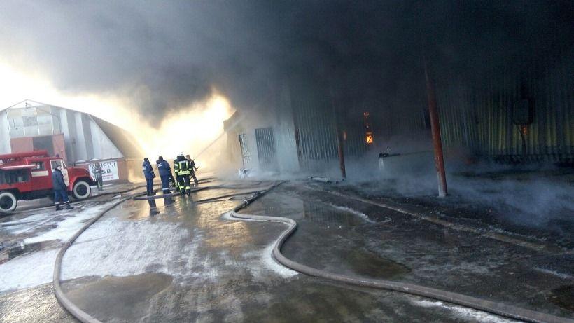 На данный момент пожар локализовали / dsns.gov.ua