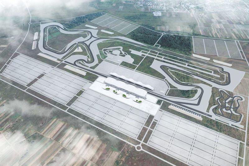 Схема будущего автодрома в Львове / motorsport.com