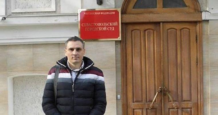 Проукраинский активист Игорь Мовенко / 15minut.org