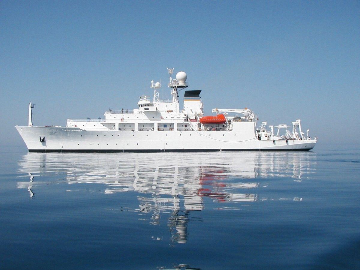 Океанографический корабль USNS Bowditch лишился аппарата из-за бдительности китайских военных / Фото public.navy.mil