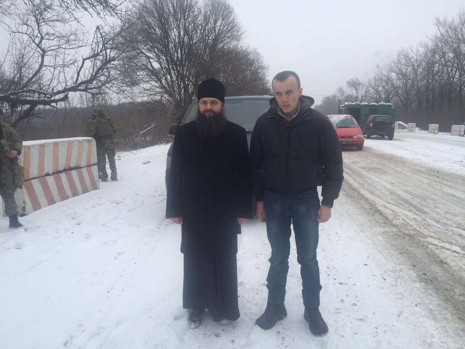 Ukrainian priests participated in talks on Kolodiy's release / Photo from Facebook.com/iryna.gerashchenko