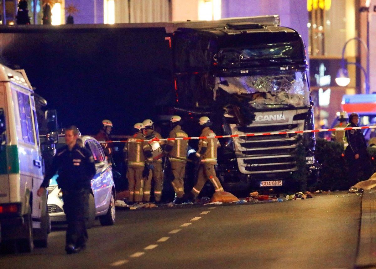 Полиция допускает возможность теракта / REUTERS