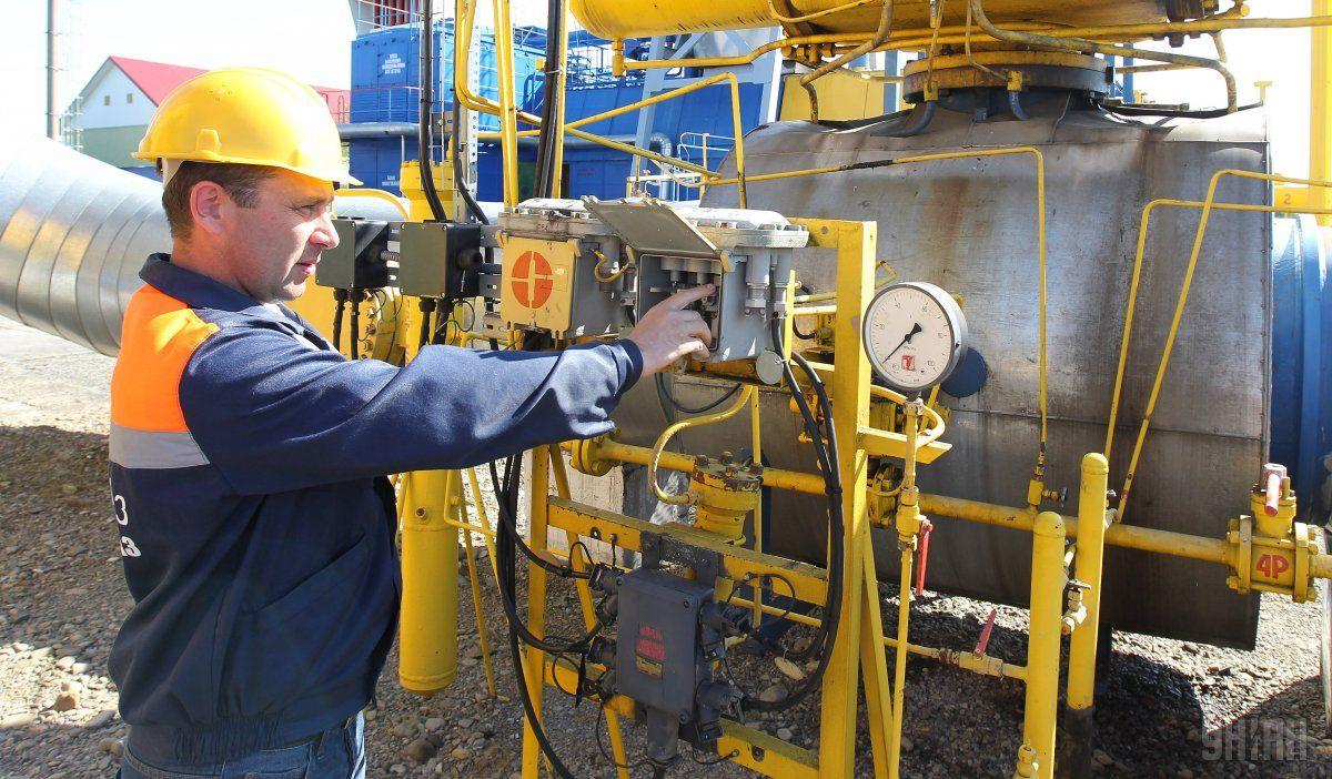 Украинские газовые хранилища заполнены на 31% / фото УНИАН