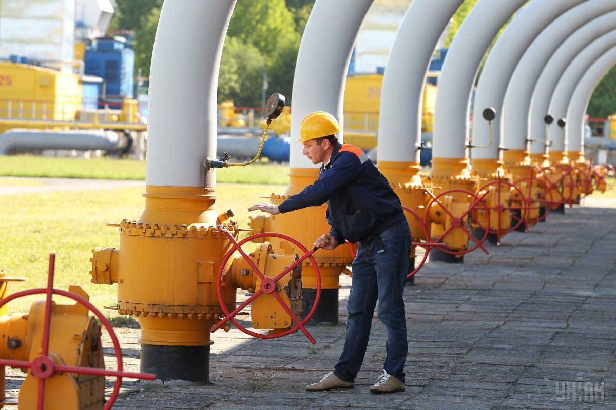 Газові сховища України заповнені на 42% / фото УНІАН