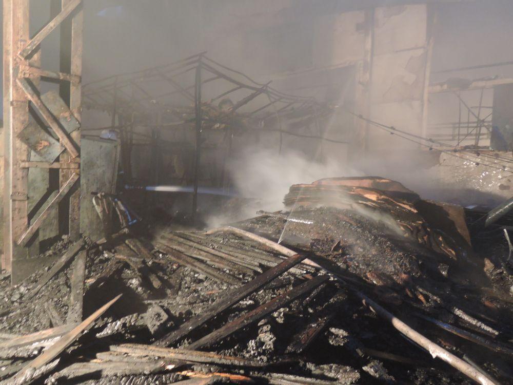 Під час гасіння пожежі врятовано один чоловік / dsns.gov.ua