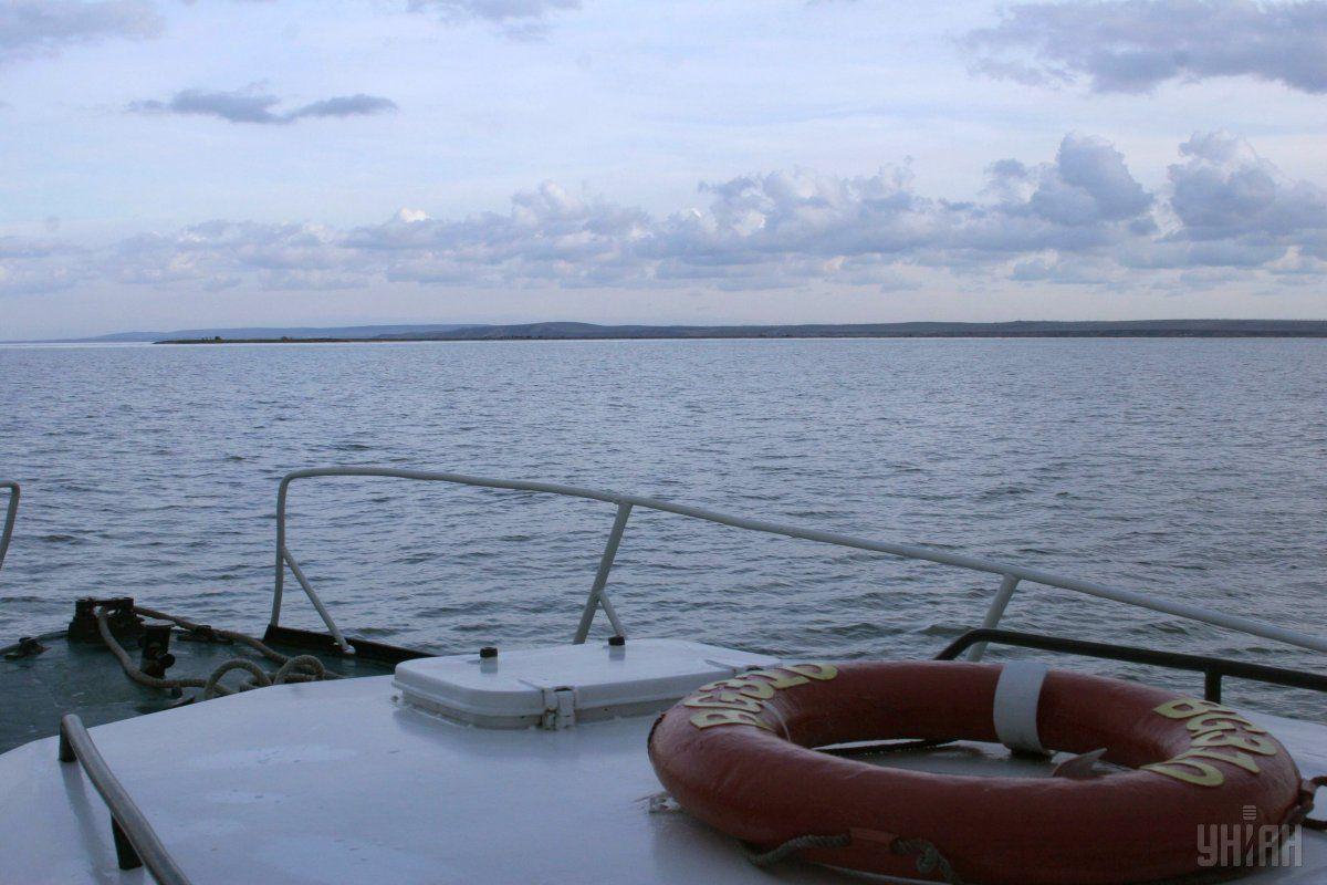 Российские оккупанты продолжают создавать помехи проходу кораблей в украинские порты / фото УНИАН