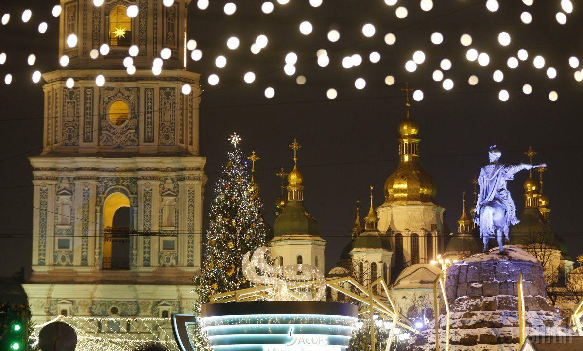 На Новый год синоптики обещают мороз / Фото УНИАН