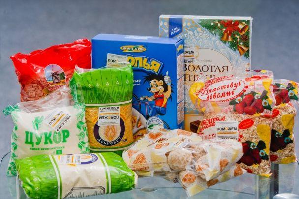 Обновленный продуктовый набор / Фото: Гуманитарный штаб Рината Ахметова