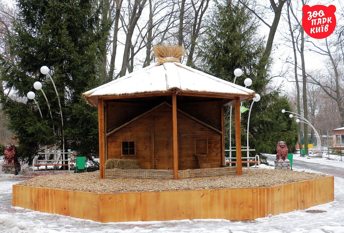 Хатинка для півника / Фото zoo.kiev.ua